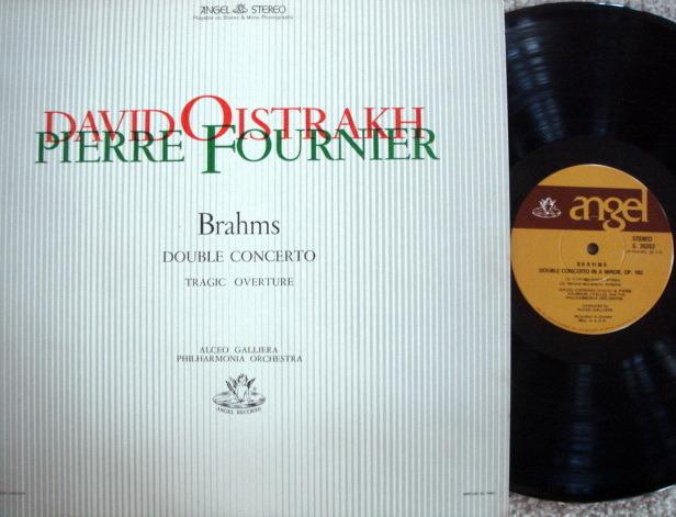 EMI Angel / FOURNIER-OISTRAKH, - Brahms Double Concerto, NM!