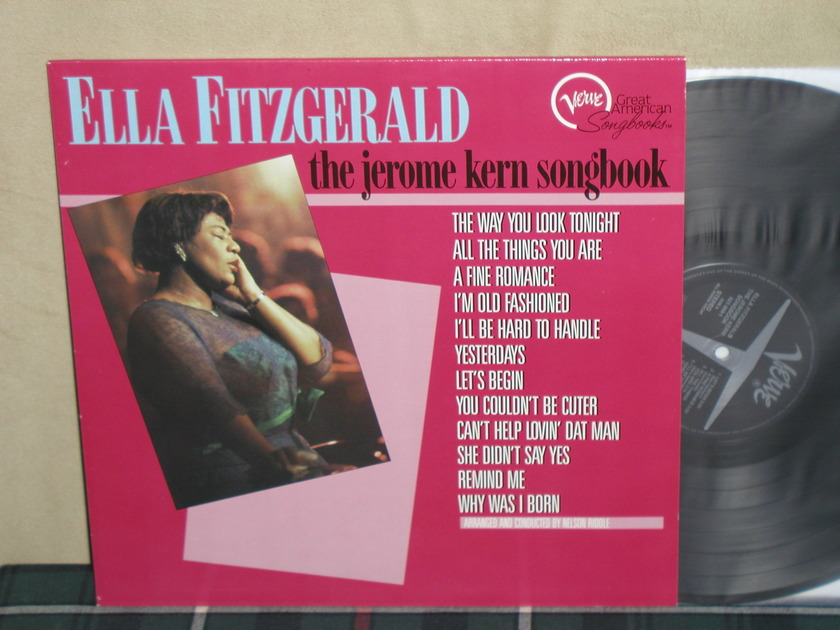 Ella Fitzgerald      Jerome Kern/ - Songbook GERMAN Press Verve GERMAN Import