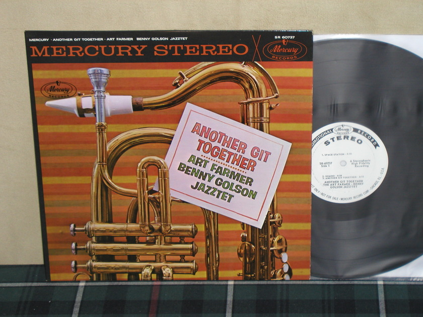 Art Farmer/Benny Golson - Another Git Together   WL PROMO Mercury SR 60737