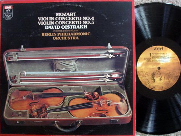 EMI Angel / OISTRAKH, - Mozart Violin Concertos No.4 & 5, NM!