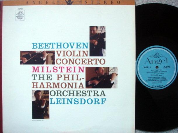 EMI Angel Blue / MILSTEIN, - Beethoven Violin Concerto, NM!