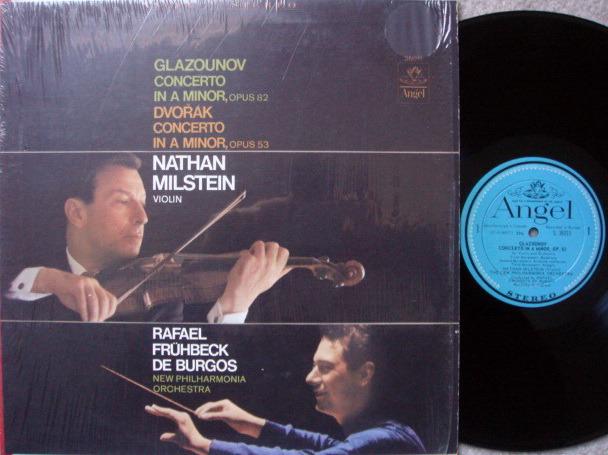 EMI Angel Blue / MILSTEIN, - Glazounov-Dvorak Violin Conertos, NM!