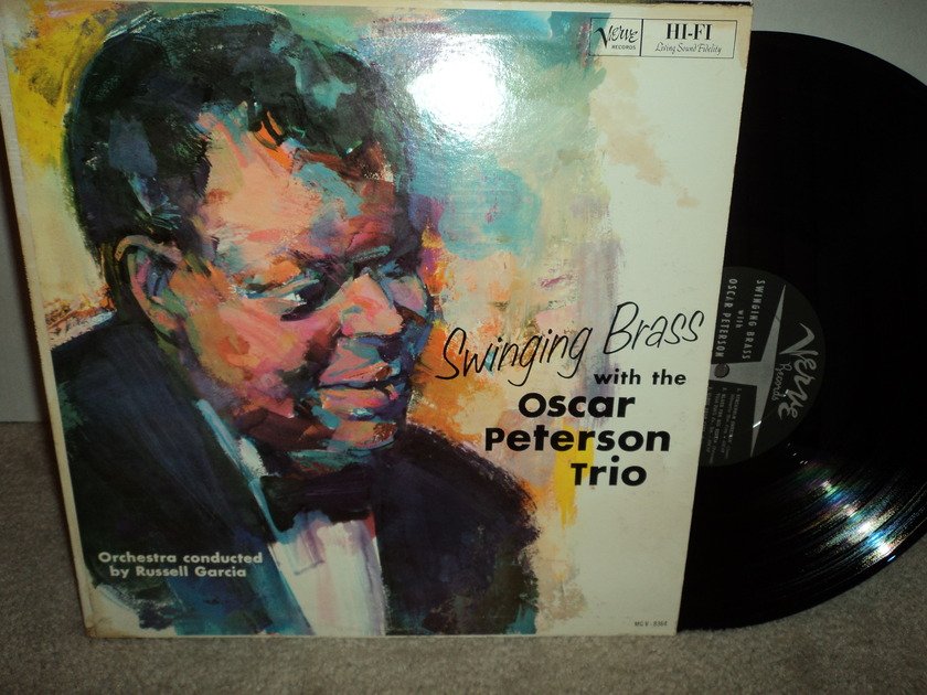 Oscar Peterson Trio - Swinging Brass Verve MG v-8364 mono