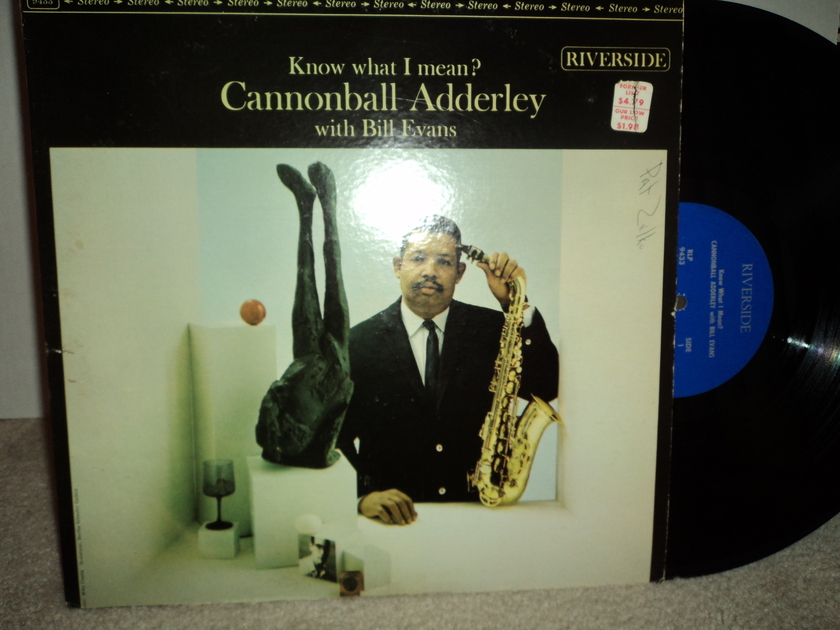"Cannonball Adderley With Bill Evans - ""Know What I Mean?"" 1961 Riverside RLP 433"