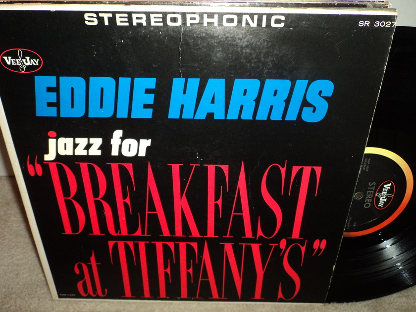 "Eddie Harris  - jazz for ""Breakfast at Tiffany's"" Vee Jay SR 3027"