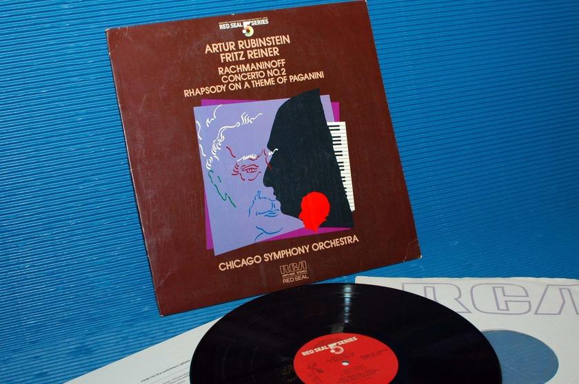 "RACHMANINOFF/PAGANINI/Rubinstein -  - ""Rachmaninoff Concerto 2/Paganini Rhapsody -  RCA .5 Series 1983  Audiophile"