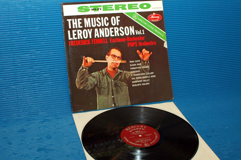 """ANDERSON/Fennell -  - """"The Music of Leroy Anderson Vol 1"""" -  Mercury Living Presence 1960's"""