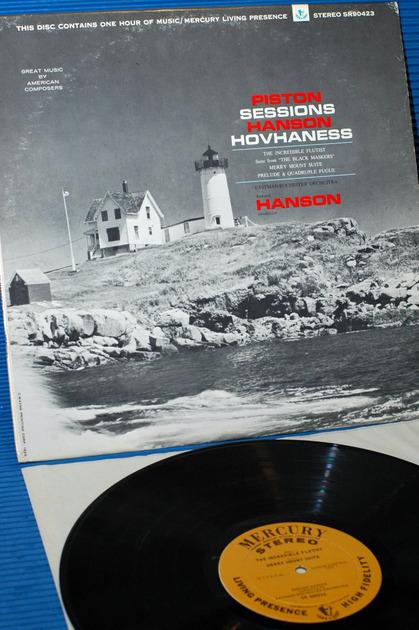 "PISTON/Hanson -  - ""Great Music By American Composers"" -  Mercury Living Presence Promo 1st Pressing"
