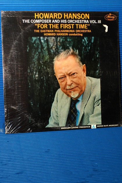"HOWARD HANSON -  - ""The Composer & His Orchestra Vol 3"" -  Mercury Living Presence Mono - Sealed!"