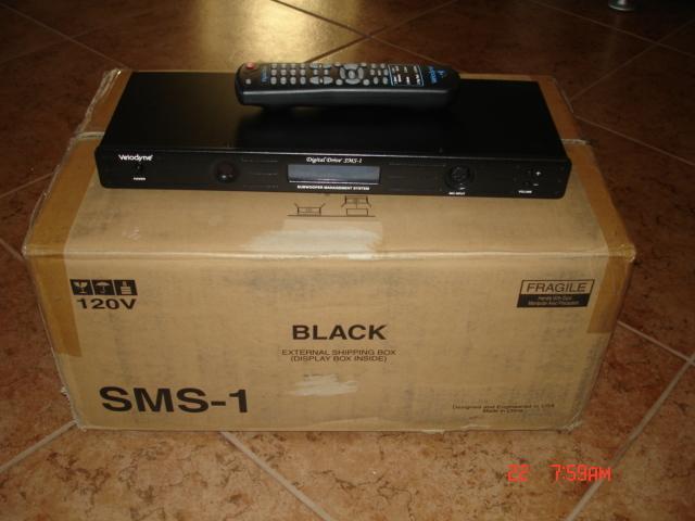 Velodyne SMS-1 Sub EQ