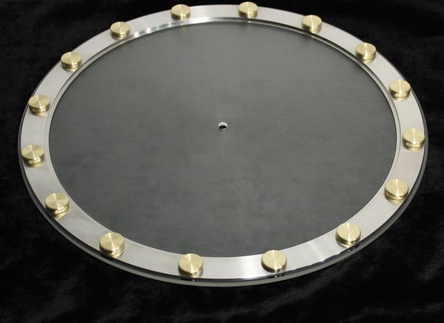 TTW Audio TTSuper Ring 675 Gram/1.5 Lbs Alloy/Brass Control Disc System Fits all VPI Tables & most other robust tables
