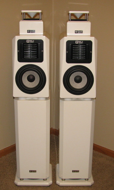 Mark & Daniel Maximus,  Muse Sub, and Omni Harmonizer pair in white