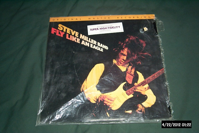 Steve Miller Band - Fly Like An Eagle mfsl audiophile lp nm japan