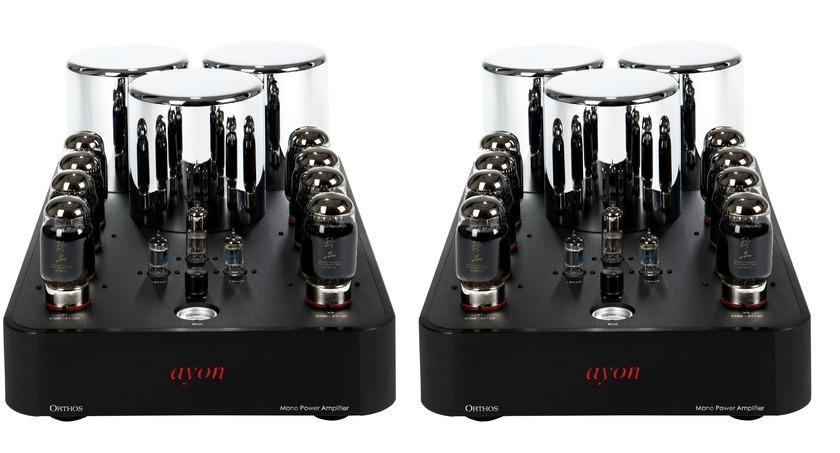 AYON AUDIO  ORTHOS II MONO AMPS BEST OF SHOW!