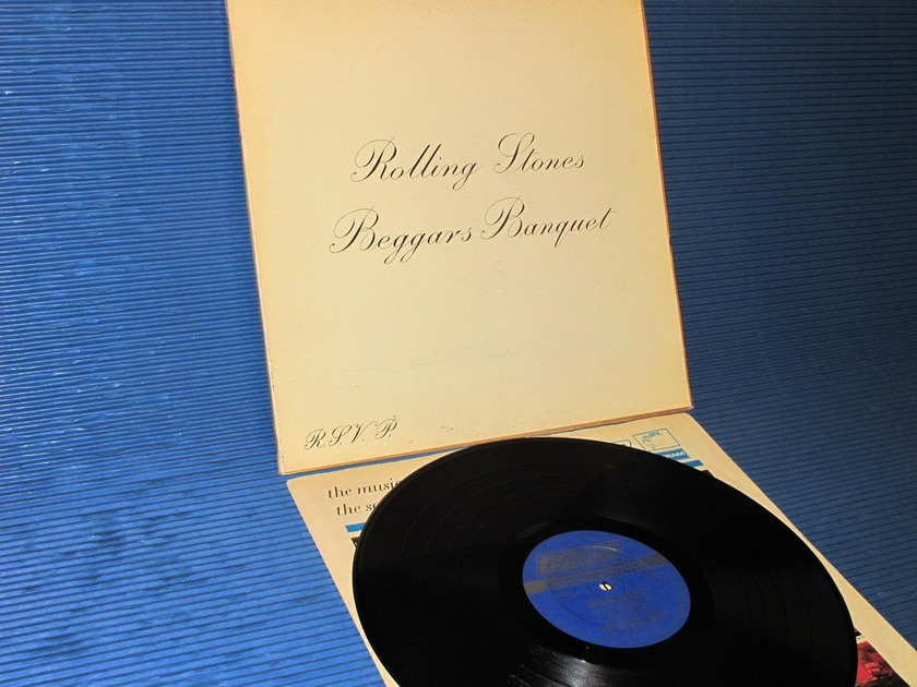 "THE ROLLING STONES - - ""Beggars Banquet"" -  London 1968 rare!"