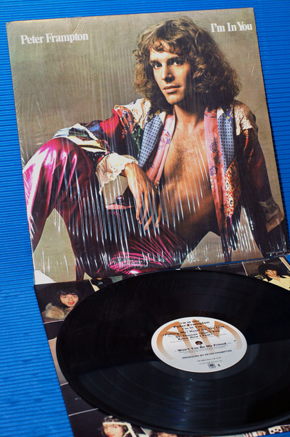 "PETER FRAMPTON - - ""I'm In You"" -  A&M 1977"