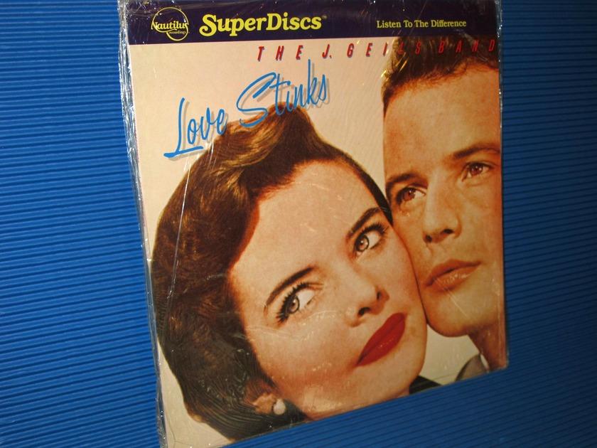 "THE J. GEILS BAND - - ""Love Stinks"" - Nautilus Super Discs 1982 sealed"