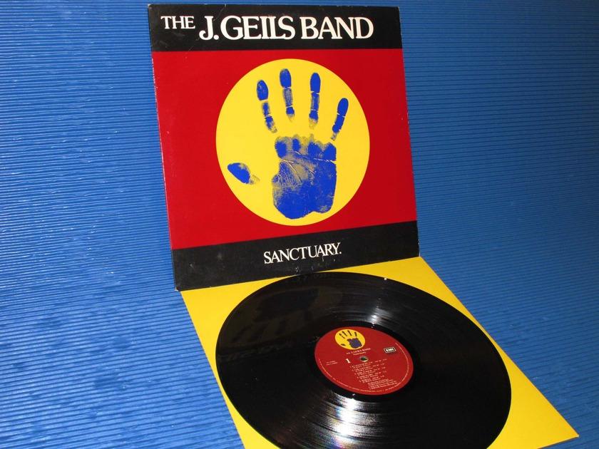 "THE J. GEILS BAND -  - ""Sanctuary"" -  EMI 1976 original release"