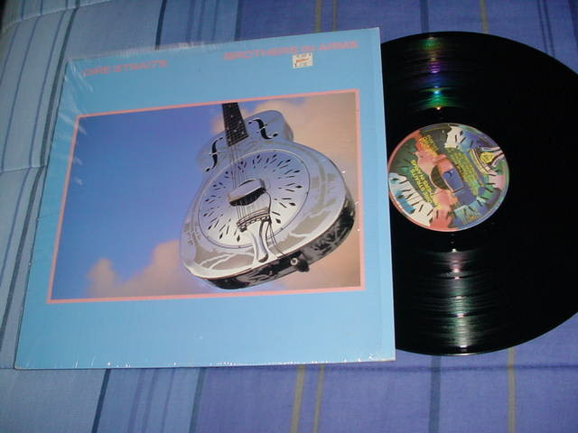 dire straits - money for nothing lp record