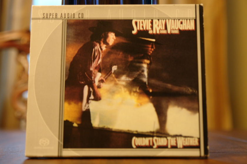 STEVIE RAY VAUGHN  - COULDN;T STAND THE WEATHER ... SACD SUPER AUDIO CD