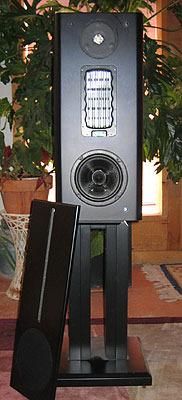 VMPS  626R/Jr 3 way ribbon monitors