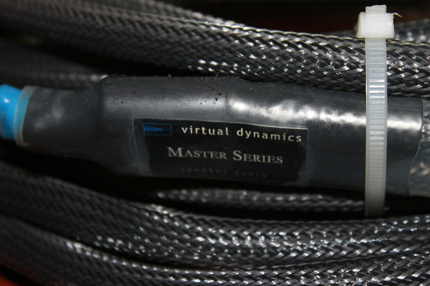 Virtual Dynamics Master 14 ft. Biwire Speaker Cables