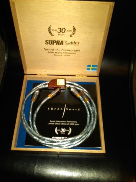 Supra Cables Sword -ISL anniversary 1 meter RCA