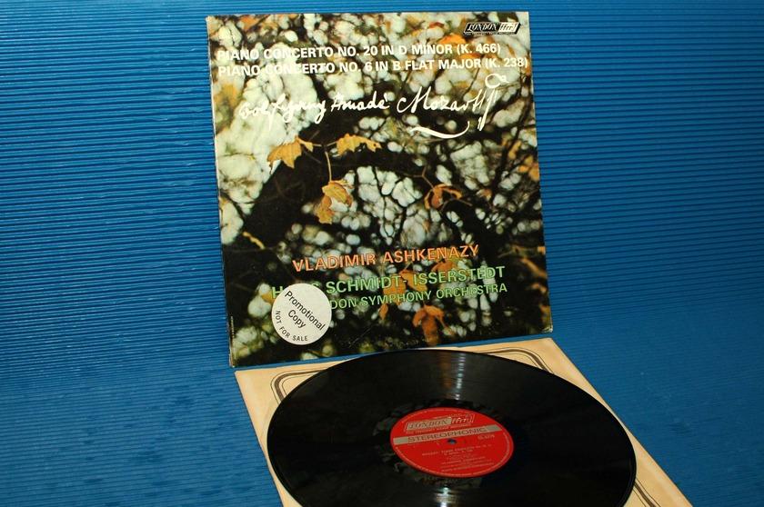 "MOZART/Ashkenazy - - ""Piano Concertos  20 & 6"" -  London 1965 promo 1st pressing"