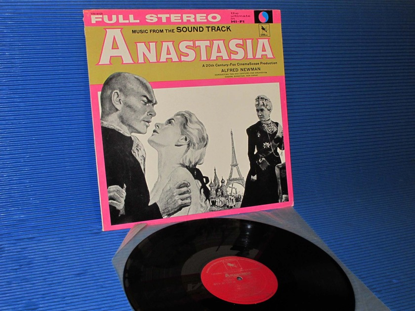 "ANASTASIA -  - ""Music from the Sound Track"" -  Varese Sarabande 1982"