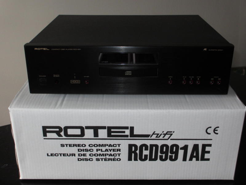 Rotel RCD-991AE CD Player