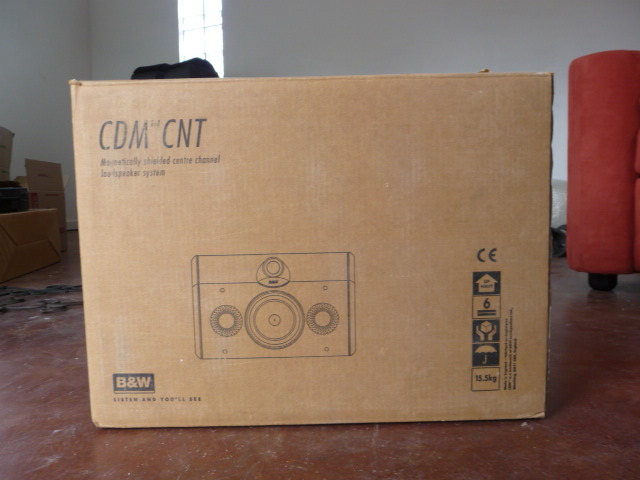 B&W  CDM CNT Center Channel Mint Condition