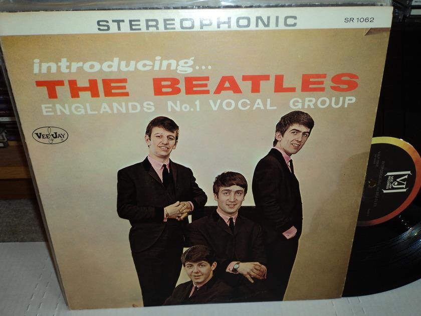 "The Beatles - ""Introducing the Beatles""  Vee-Jay 1062 NM+"