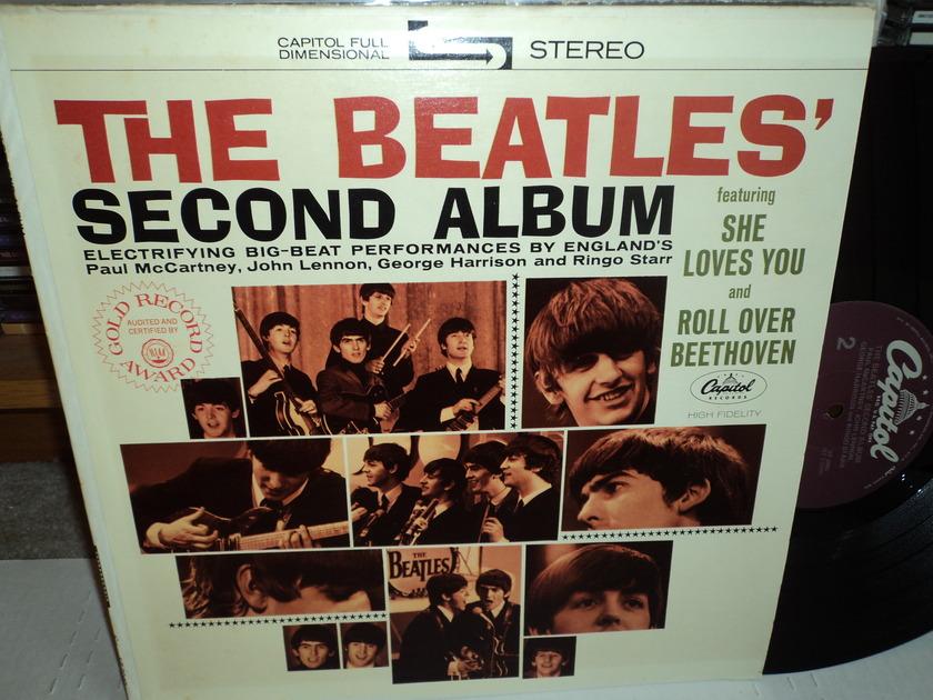 The Beatles Second Album - 1983 Capitol Purple Lable ST 2080 NM+