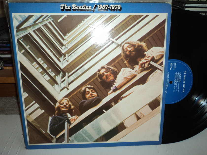 The Beatles  - 1967 - 1970 Blue Label SKBO 3404 (2)LPs