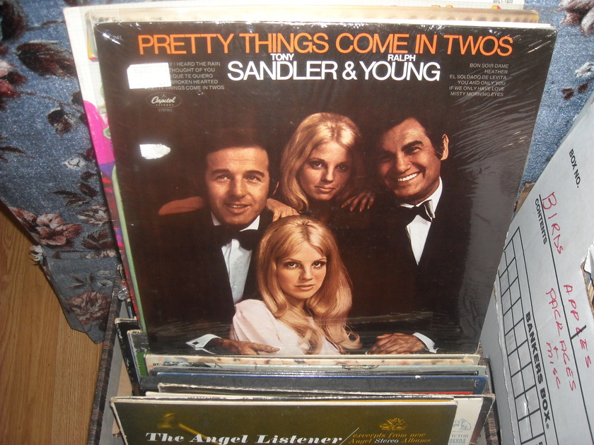 (lec) Sandler & Young - Pretty Things Come In Twos Capitol  LP (c) Sealed