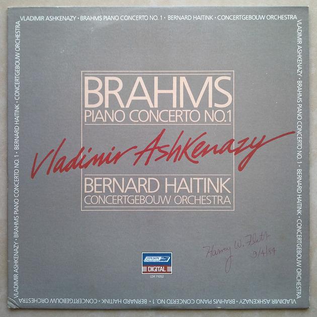 London Digital | ASHKENAZY/BRAHMS - Piano Concerto No. 1 / NM