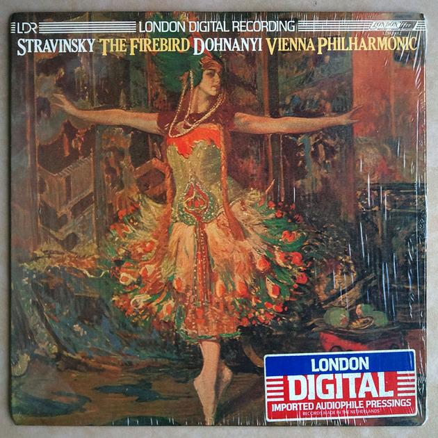 London Digital   DOHNANYI/STRAVINSKY - The Firebird / NM
