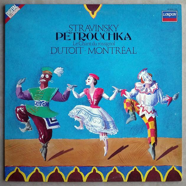 London Digital   DUTOIT/STRAVINSKY - Petrouchka, Le chant du rossignol / NM