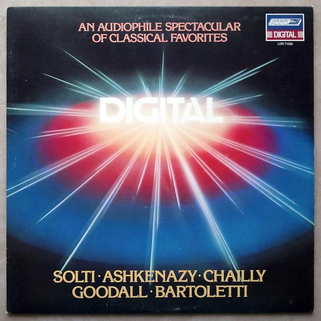 London Digital   An Audiophile - Spectacular of Classcical Favorites / NM