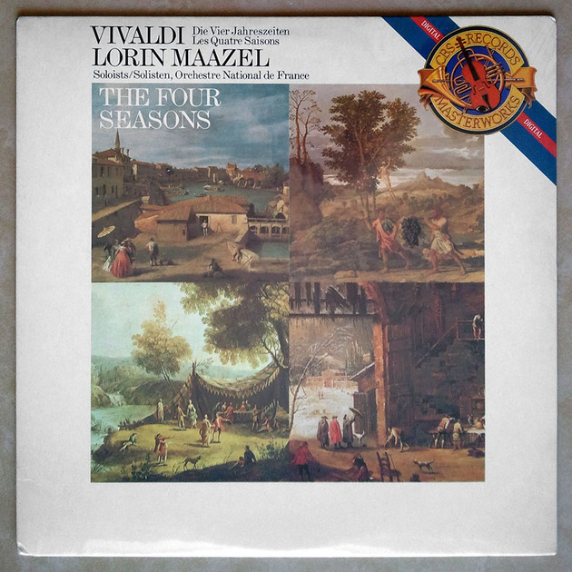 Sealed CBS Digital   MAAZEL/VIVALDI - The Four Seasons