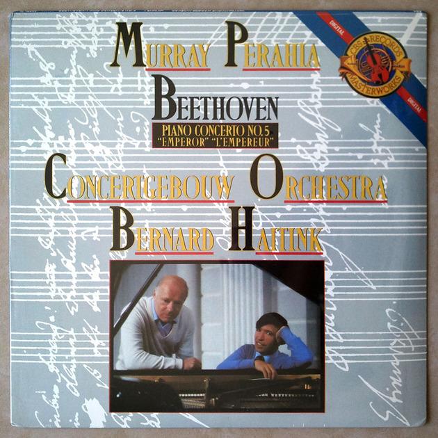 """Sealed CBS Digital   PERAHIA/HAITINK/BEETHOVEN - Piano Concerto No. 5 """"Emperor"""""""