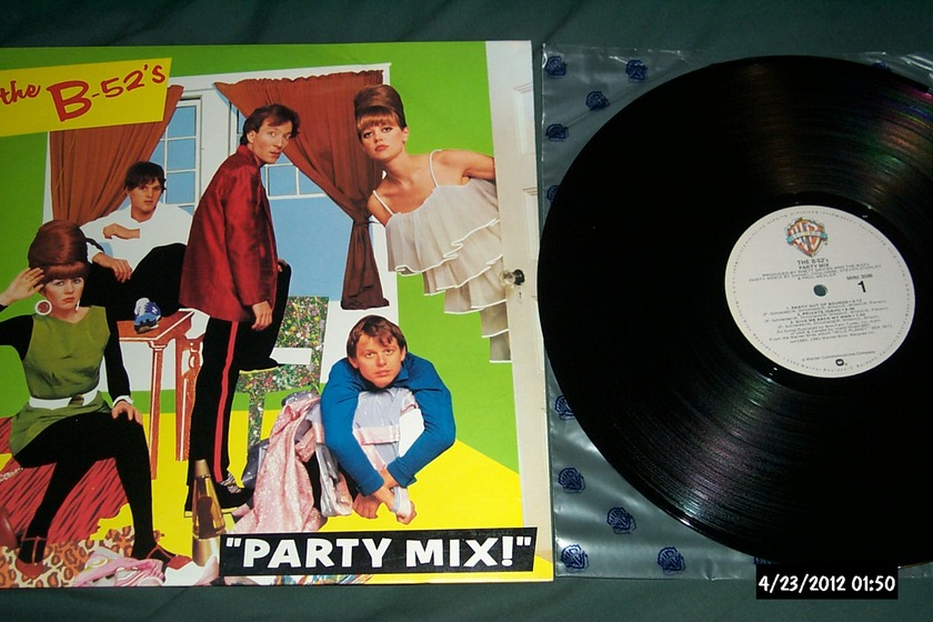 The B-52's - Party Mix! 12 Inch EP NM