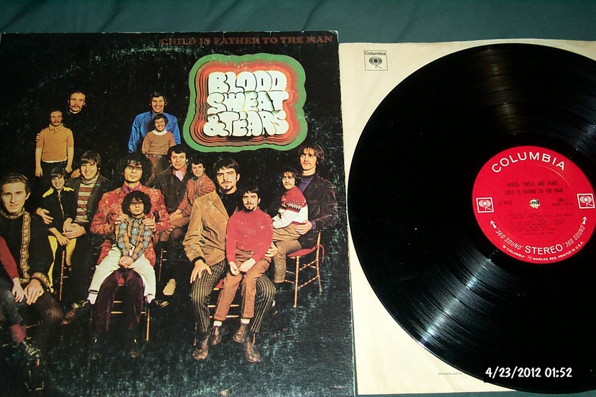 Blood,sweat & tears - Child Is The Father To The Man 360 sound label LP