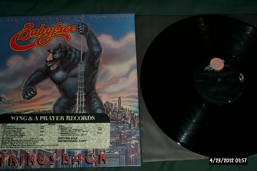 Wing And A Prayer Fire And - Drum Corps Babyface LP NM