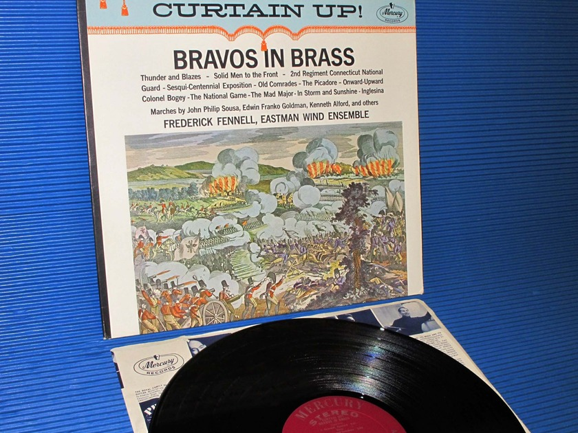 """SOUSA/GOLDMAN/ALFORD/Fennell - - """"Bravos In Brass"""" -  Mercury Living Presence 1963 early pressing"""