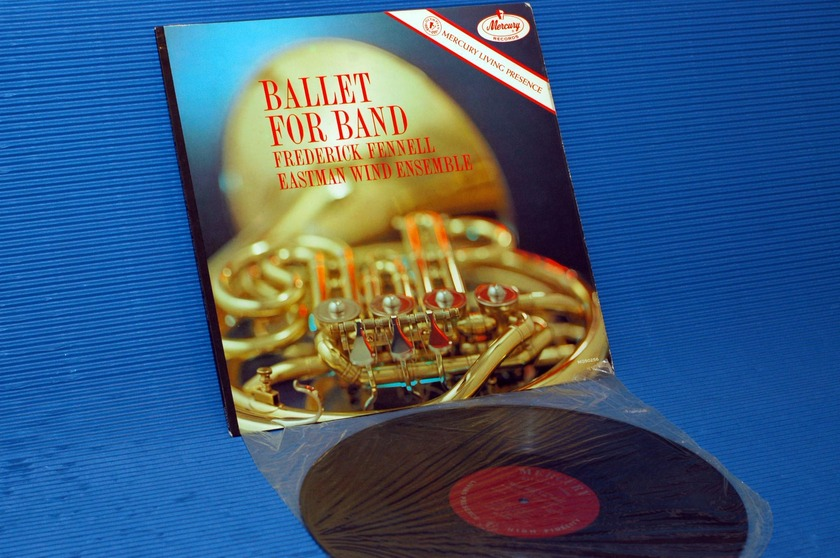 """FREDERICK FENNELL -  - """"Ballet For Band"""" - Mercury Living Presence Mono Sealed!"""