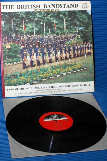 "THE BRITISH BANDSTAND -  - ""Music of Gilbert & Sullivan"" -  Angel heavy vinyl"
