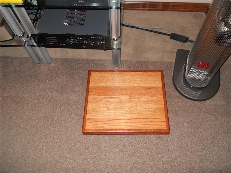 Audio Isolation by Miller Audio Isolation Stands Perfect for Turntables, Mono Blocs or Tube Amps