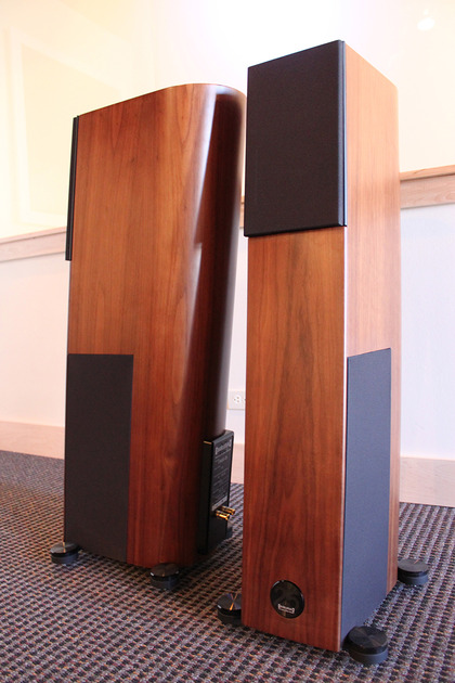 Audio Physic Virgo 25th Anniversary Edition in Rose. Pair