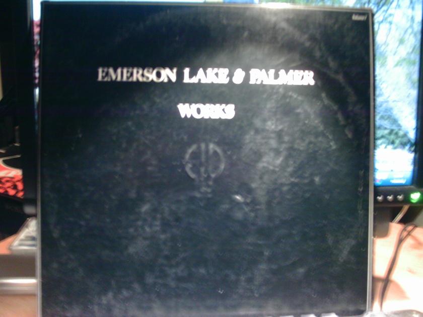 Emerson Lake& Palmer - WORKS 2 record set